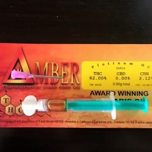 Clear Delta Amber Triple Distilled Syringes