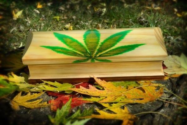 cannabis stake box