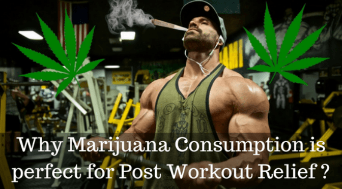 Marijuana Post Workout Relief