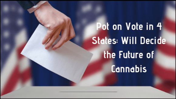 Pot on vote in 4 states- Will Decide the future of cannabis (1)