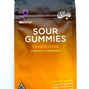 Tangerine Gummy Edibles